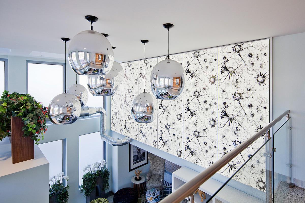 LightPlane Panels with ViviGraphix Graphica glass