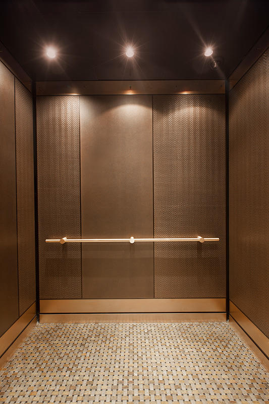 Levele 101 elevator interiors architectural forms surfaces Elevator cabin design