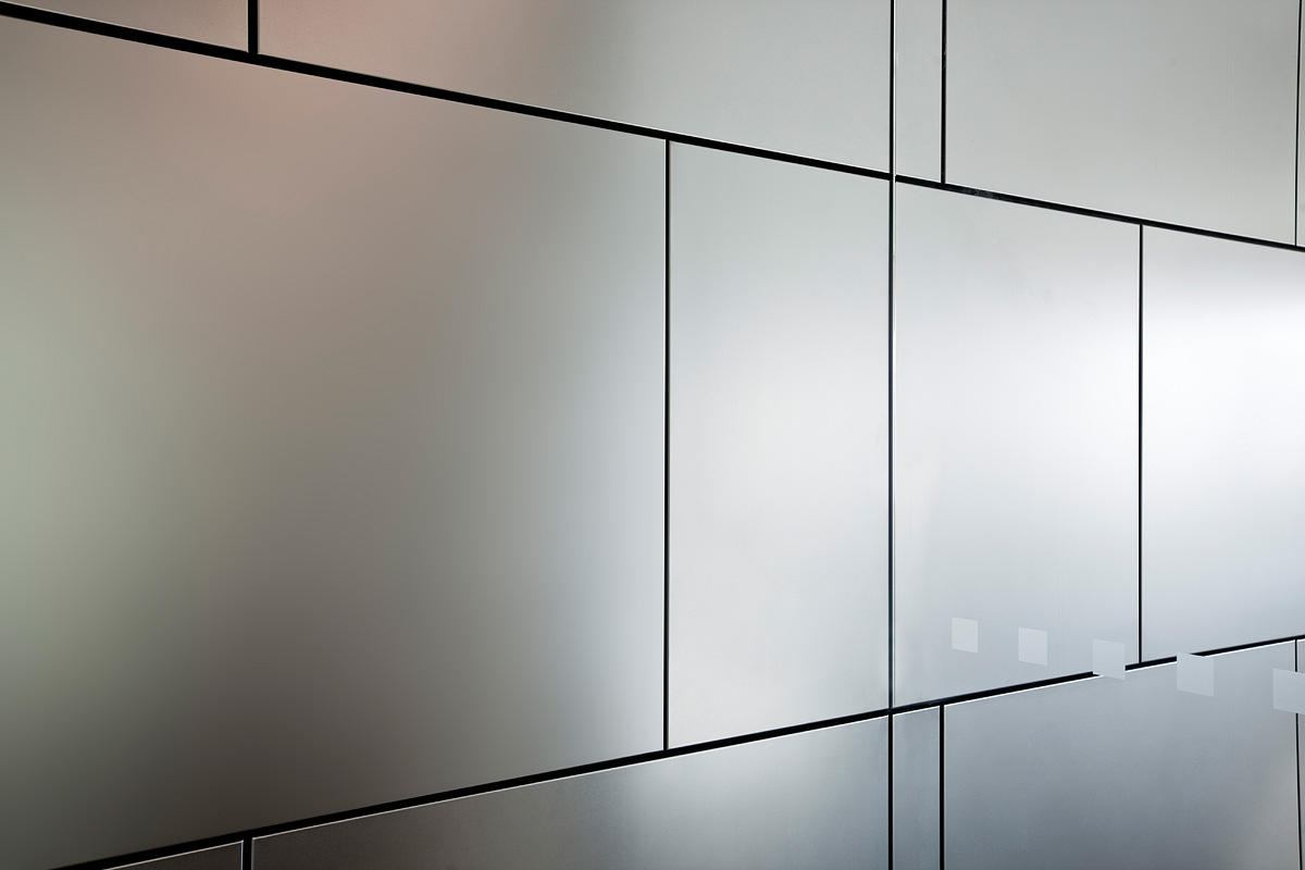 Stainless Steel Wall Cladding : Levele wall cladding system architectural forms