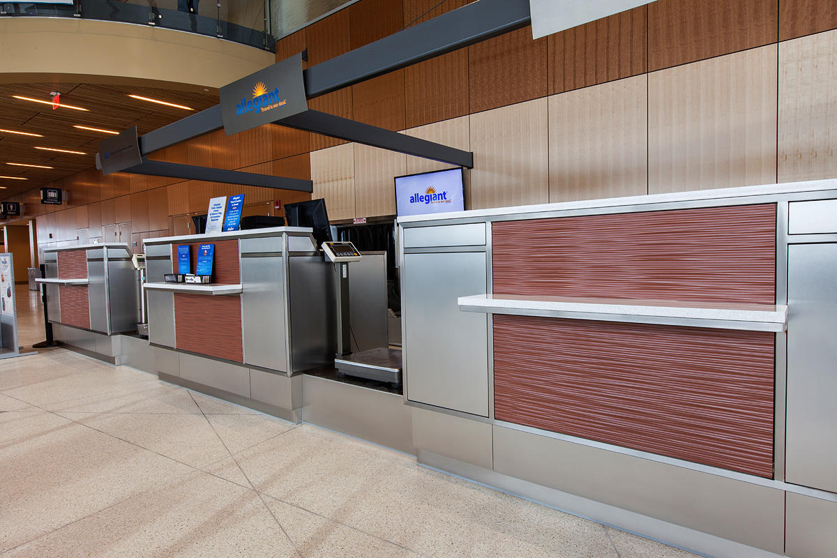 Duluth international airport forms surfaces for International decor surfaces