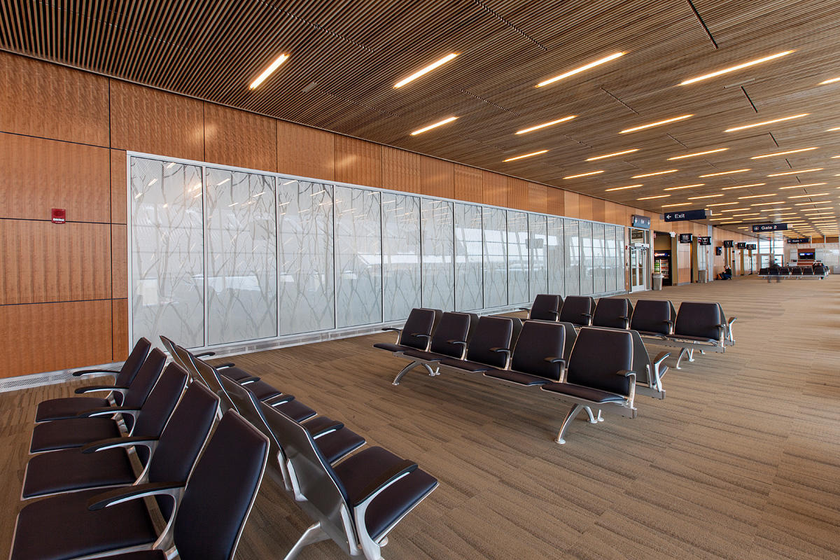 Duluth International Airport Forms Surfaces