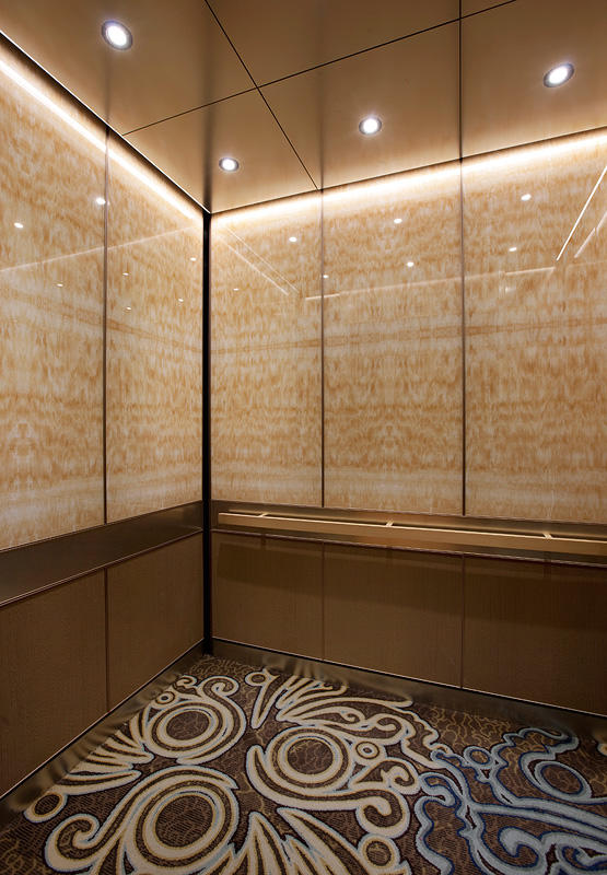 LEVELe105 Elevator Interiors Architectural FormsSurfaces