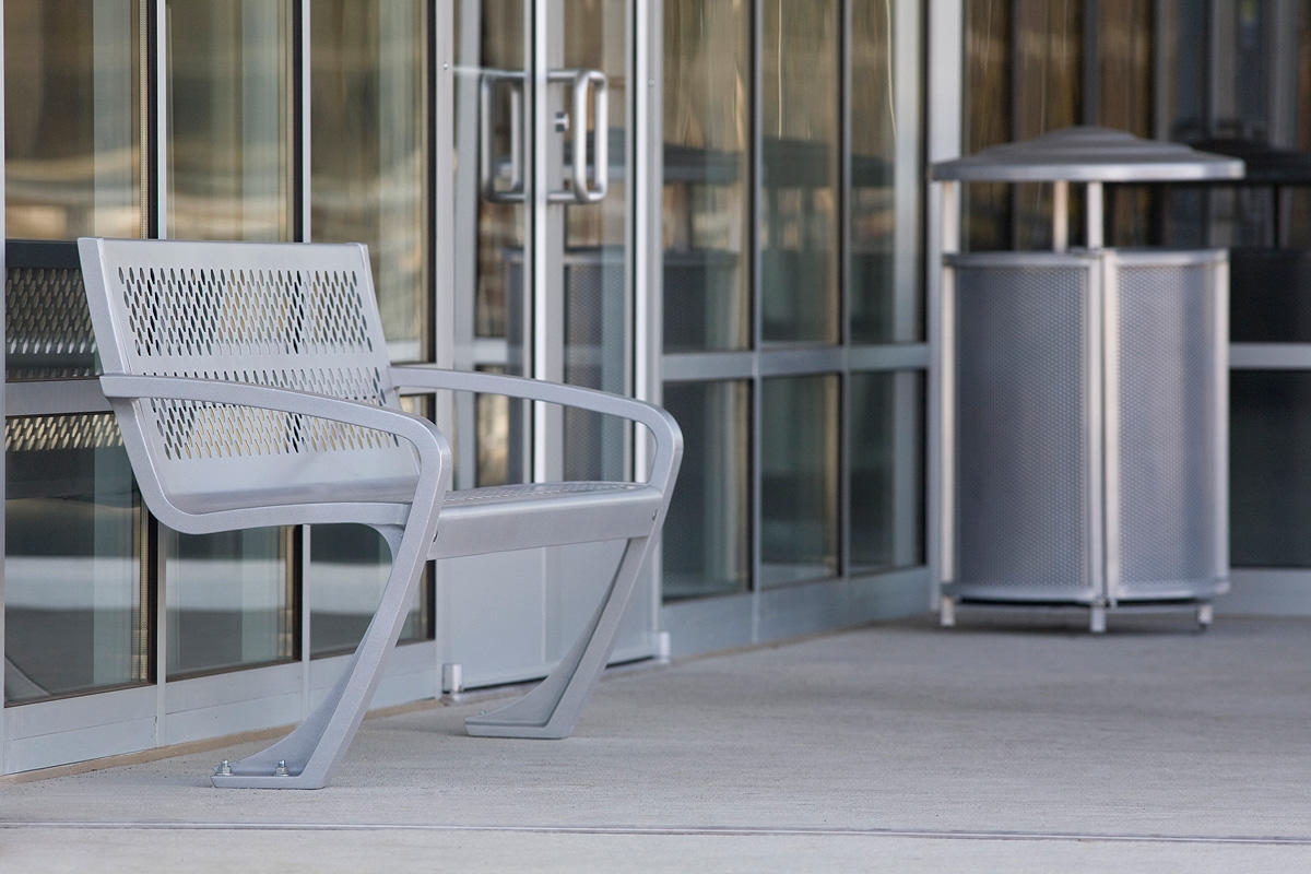 Balance Bench shown in backed configuration and Urban Renaissance