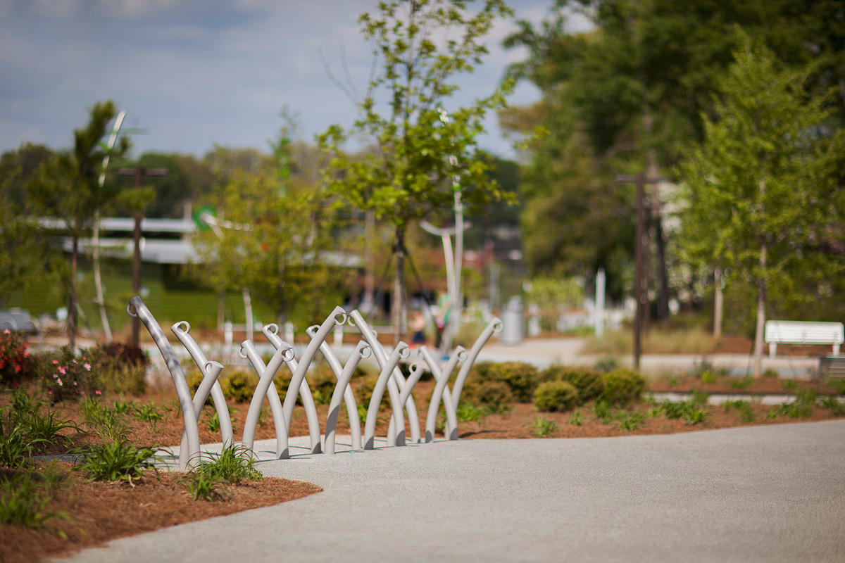 Historic Fourth Ward Park Forms Surfaces