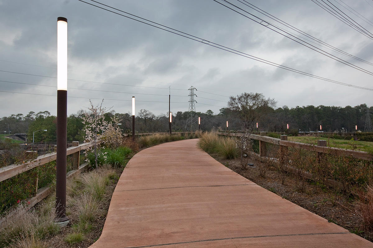 Houston Memorial Park Forms Surfaces