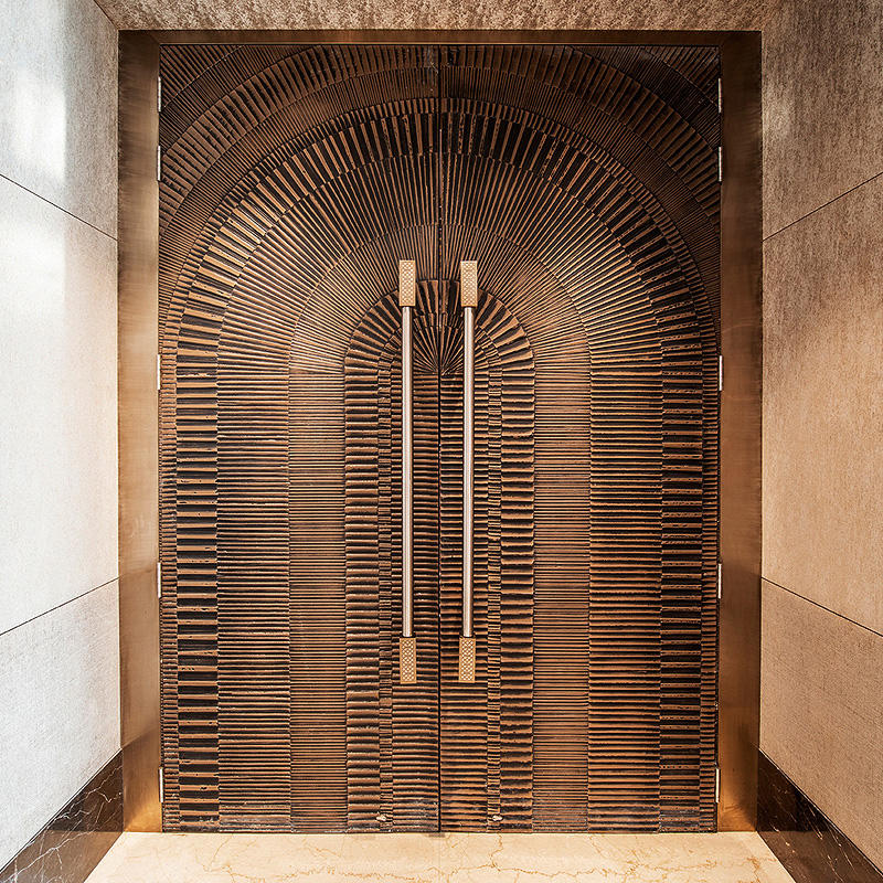 Jw marriott hotel mumbai sahar forms surfaces for Design patterns of doors