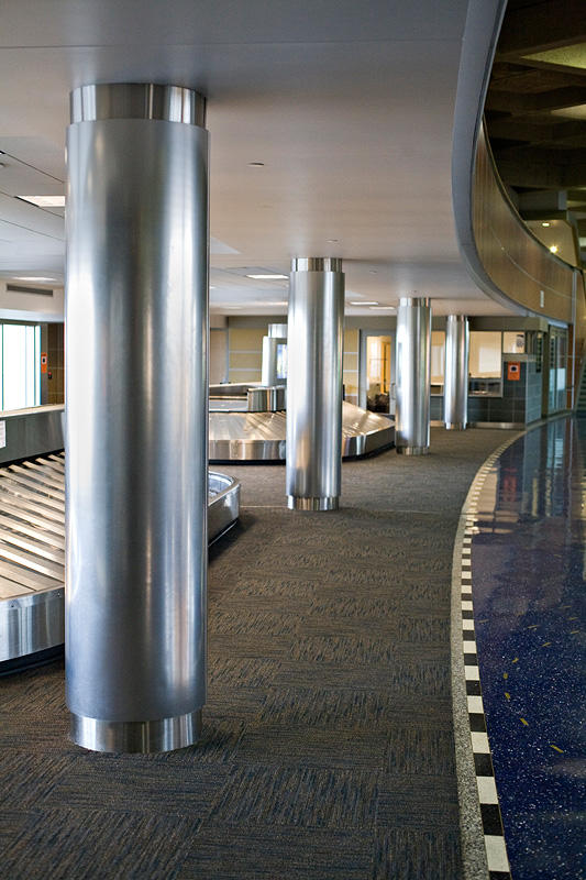 Kansas City International Airport Forms Surfaces