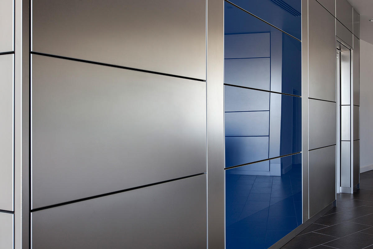 Stainless Steel Wall Cladding : Kossen equipment inc forms surfaces
