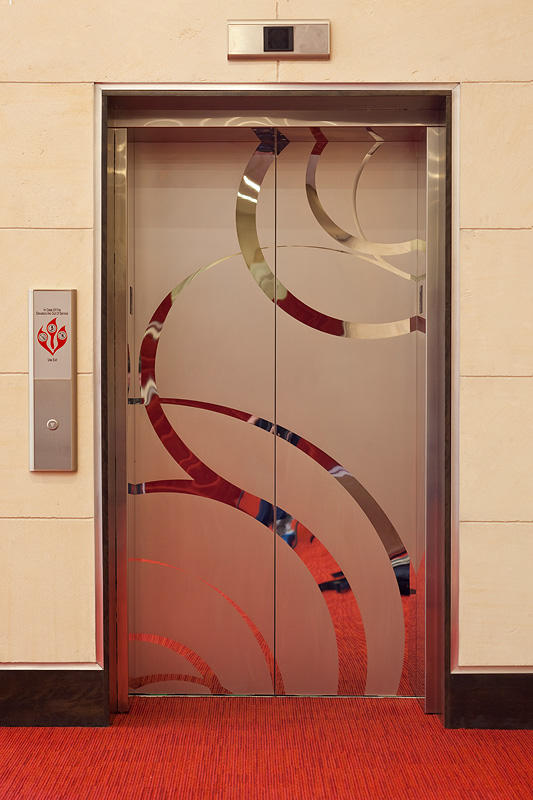 ... Elevator Doors in Stainless Steel with Mirror finish and ECO205H Eco-Etch ... & Stainless Steel Elevator Doors | Architectural | Forms+Surfaces