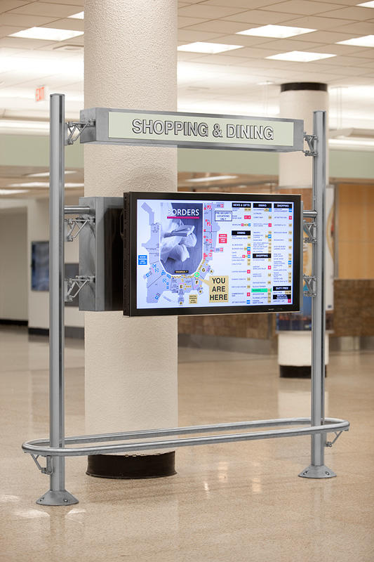 Inform Flight Information Displays Architectural Forms Surfaces