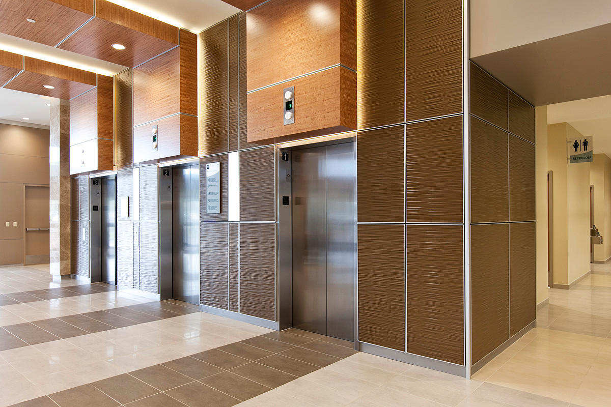 LEVELe Wall Cladding System with Capture panels