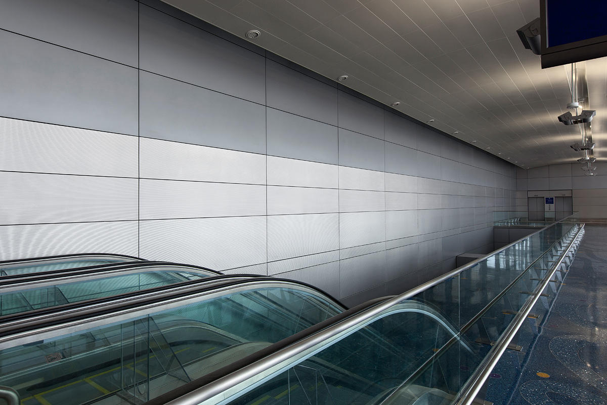 Aluminum Wall System : Levele wall cladding system architectural forms surfaces