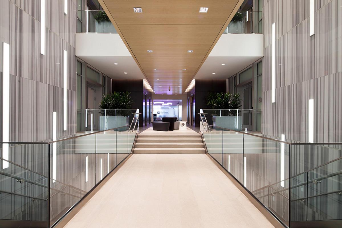 LightPlane Panels in ViviChrome Chromis glass with White interlayer