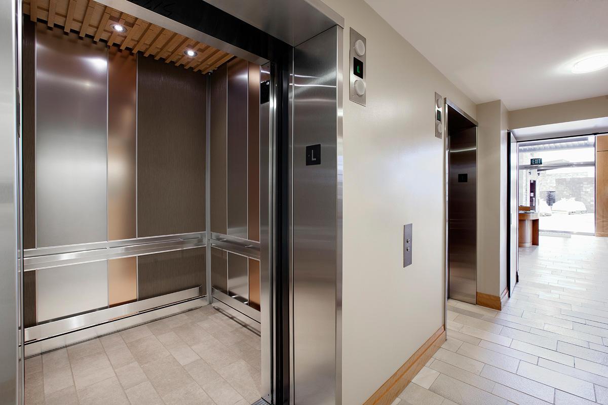 LEVELe-101 Elevator Interior
