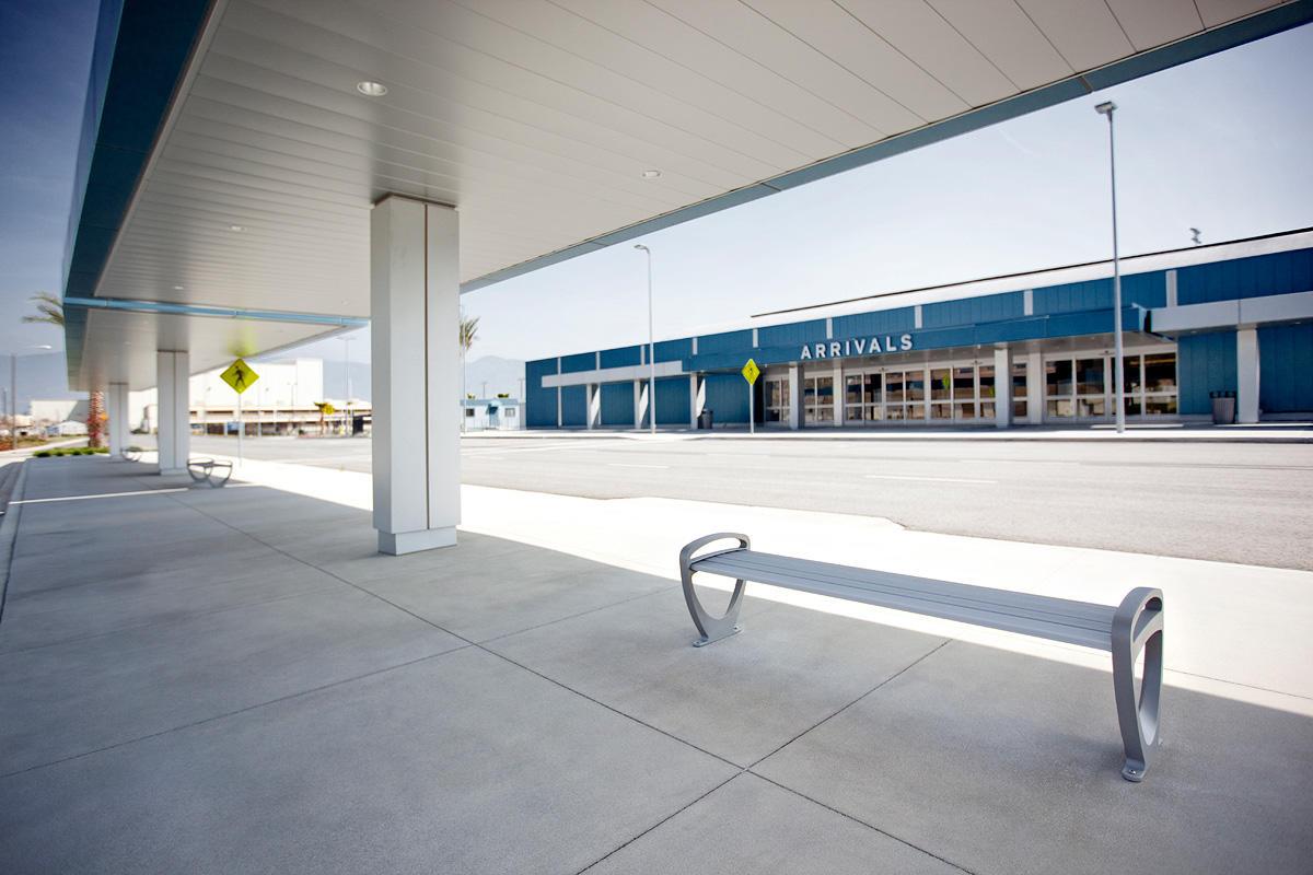 San Bernardino International Airport Forms Surfaces