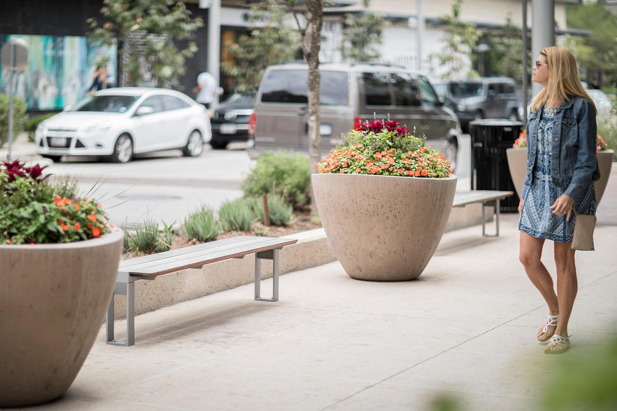 Apex Benches shown in standalone bench configuration
