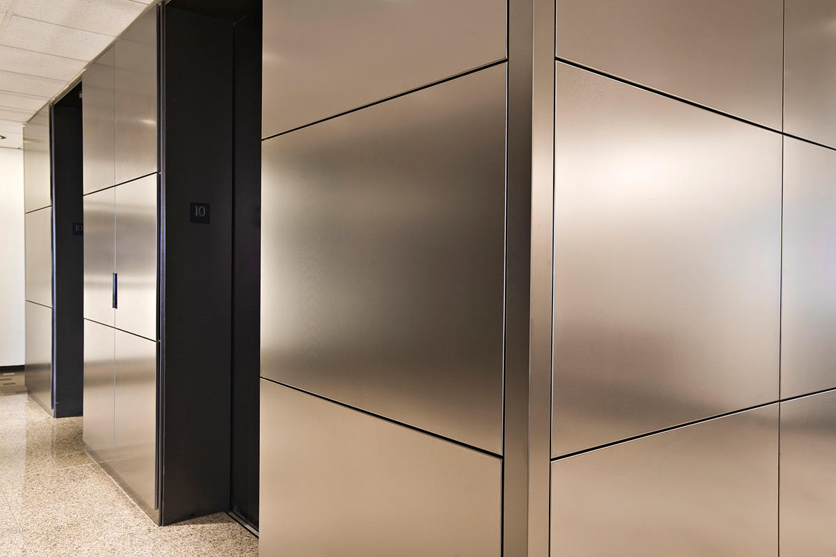 Stainless Steel Wall Cladding : Levele wall cladding system architectural forms surfaces
