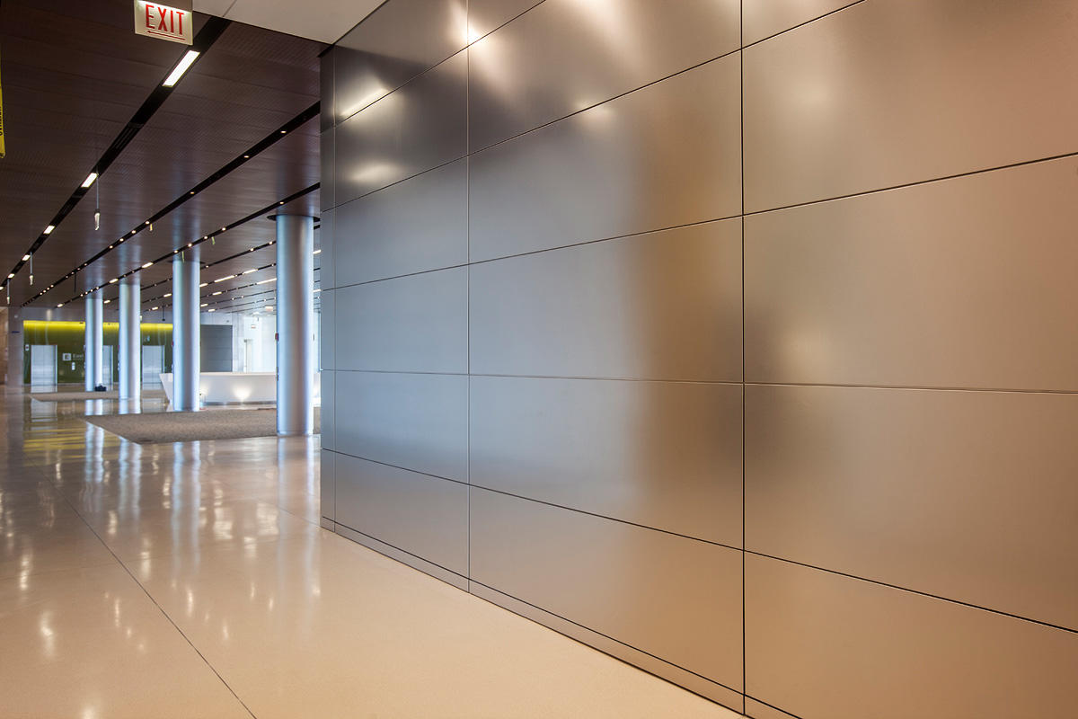 Exceptional ... LEVELe Wall Cladding System With Float Panels And Custom Panels In  Stainless ...