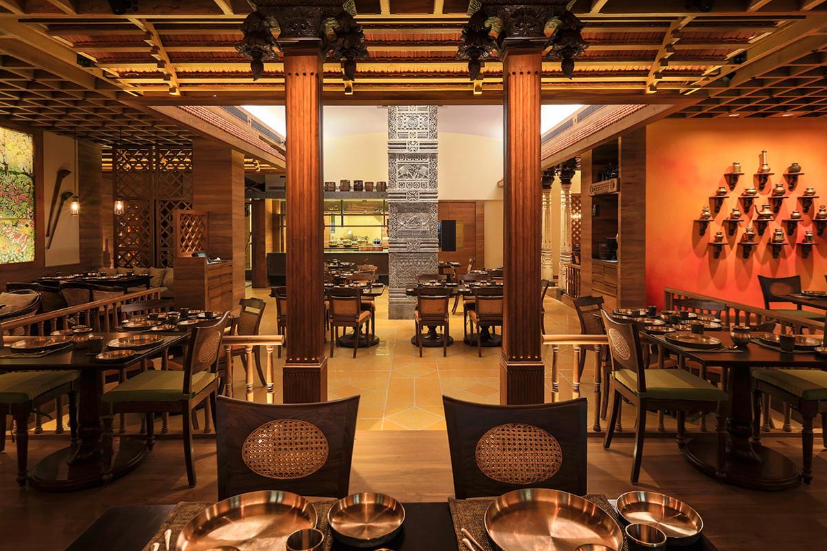 Vivanta By Taj President The Konkan Cafe Forms Surfaces