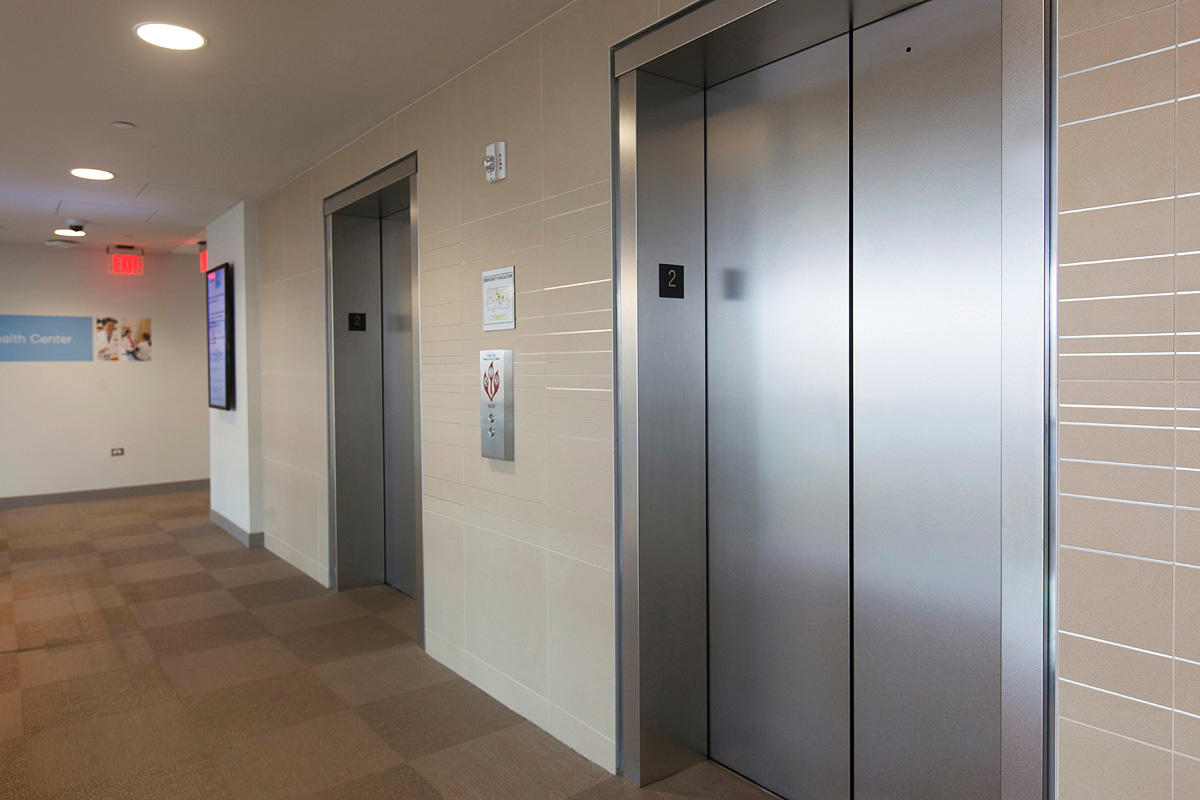 ... Elevator door skins in Stainless Steel with Sandstone finish ... & Stainless Steel Elevator Doors | Architectural | Forms+Surfaces