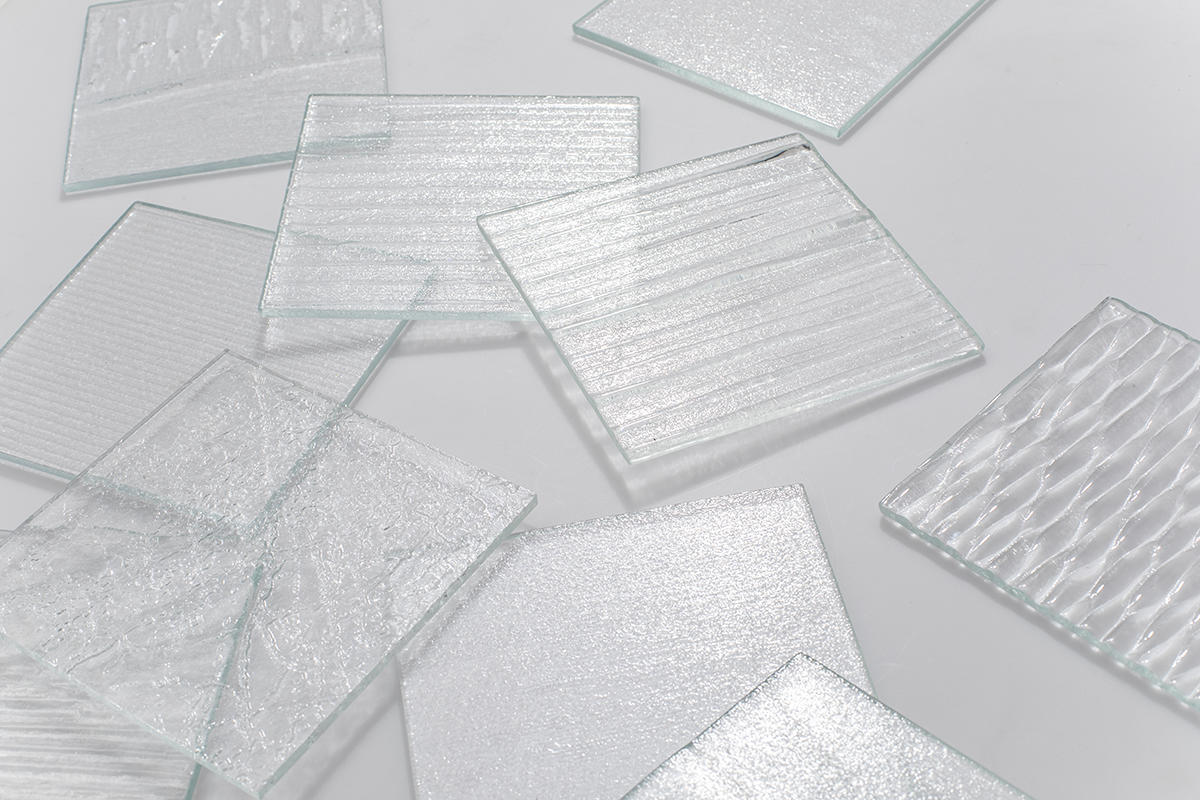 BermanGlass Classic Kiln Cast Glass Textures
