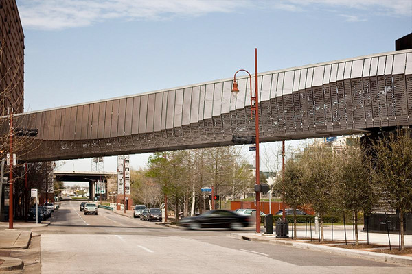 Eco Etch Brings Houston S Ballet Bridge To Life Forms