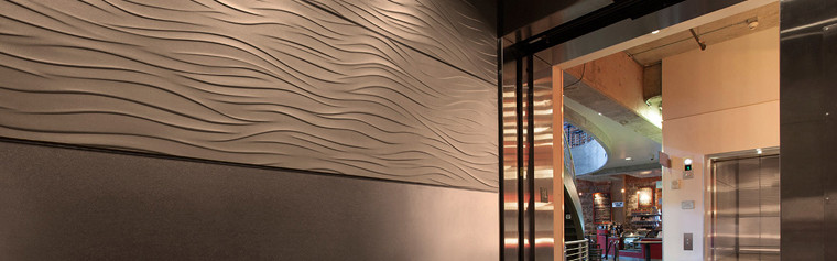 Elevator Interiors Forms Surfaces