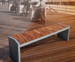 Boardwalk Bench: Giving Back to its Hometown