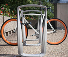 New Twist Bike Rack Offers Playful Sophistication
