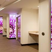 LightPlane Panels in ViviGraphix Spectra glass with custom graphic interlayer