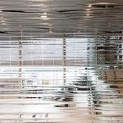 ViviForm Impression glass in Kalahari pattern at Duluth International Airport
