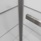 LEVELe-103 Elevator Interior with accent panels in ViviChrome Chromis glass