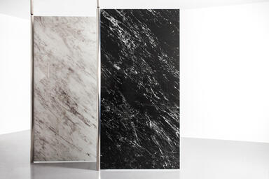 ViviSpectra Elements glass, Reflect, White Marble and Black Marble, Standard