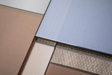 ViviTela Mesh glass in a variety of configurations