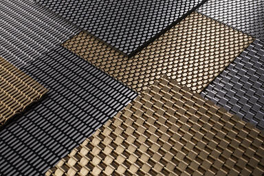 Linq Woven Metal, CrossLinq Patterns: Sum, Wave Merge