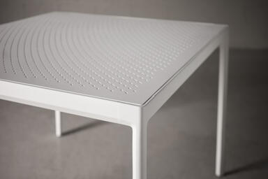 Avivo Table with Vento perforation