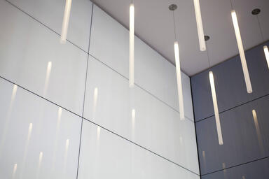 LEVELe Wall Cladding System with Blind panels