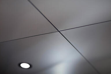 Elevator Ceiling in Stainless Steel with Satin finish