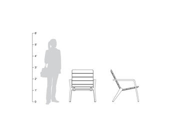 Vaya Chair, shown to scale