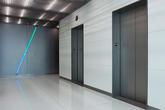 Fused Metal Elevator Doors