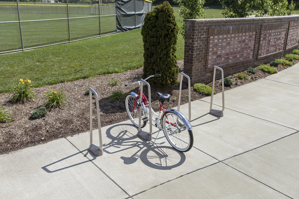 Summit Bike Rack Outdoor Forms Surfaces