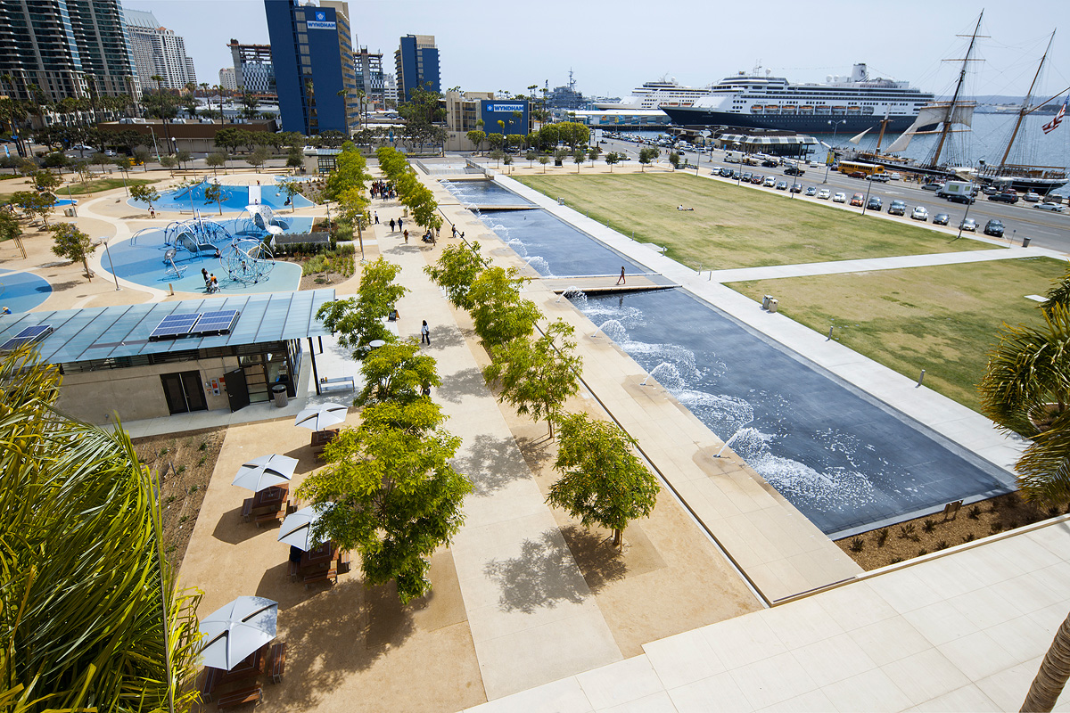 Cac Waterfront Park Forms Surfaces