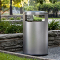 Universal Litter & Recycling Receptacle