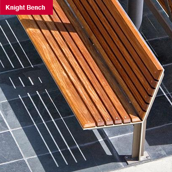Site Furniture Product: Knight Bench