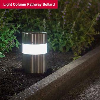 Lighting: Light Column Pathway Bollard