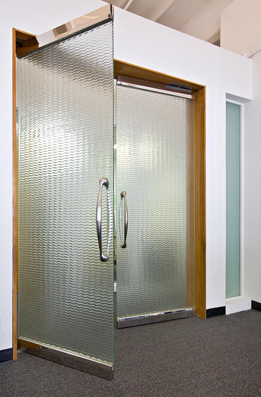 Glass Doors Architectural Forms Surfaces