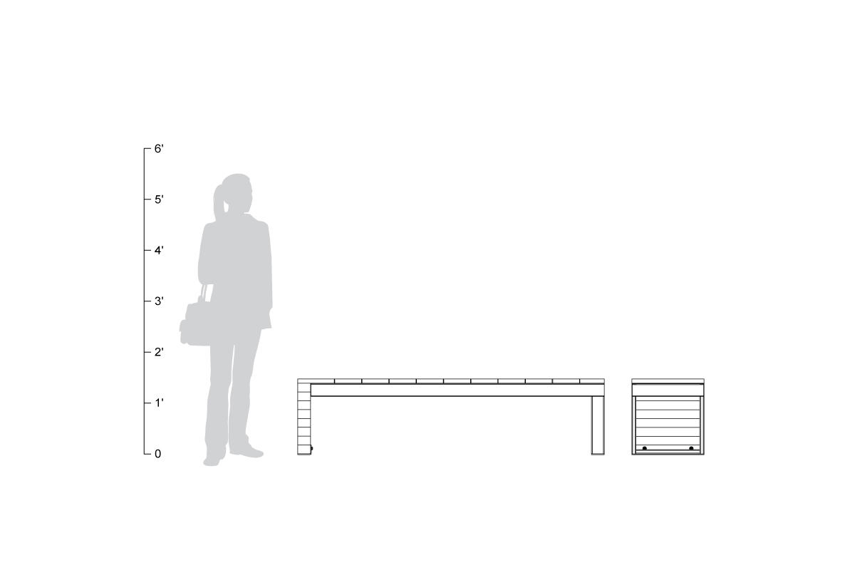 Duo Bench shown to scale