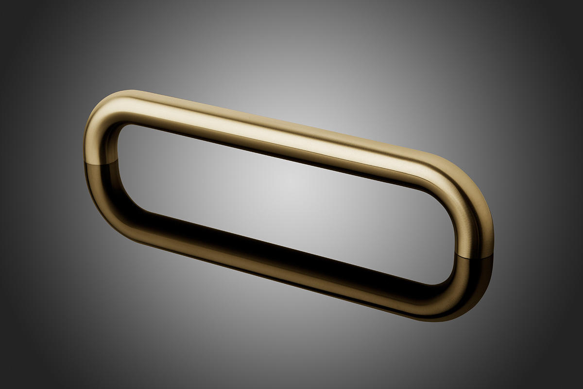 Round Door Pulls Architectural Forms Surfaces