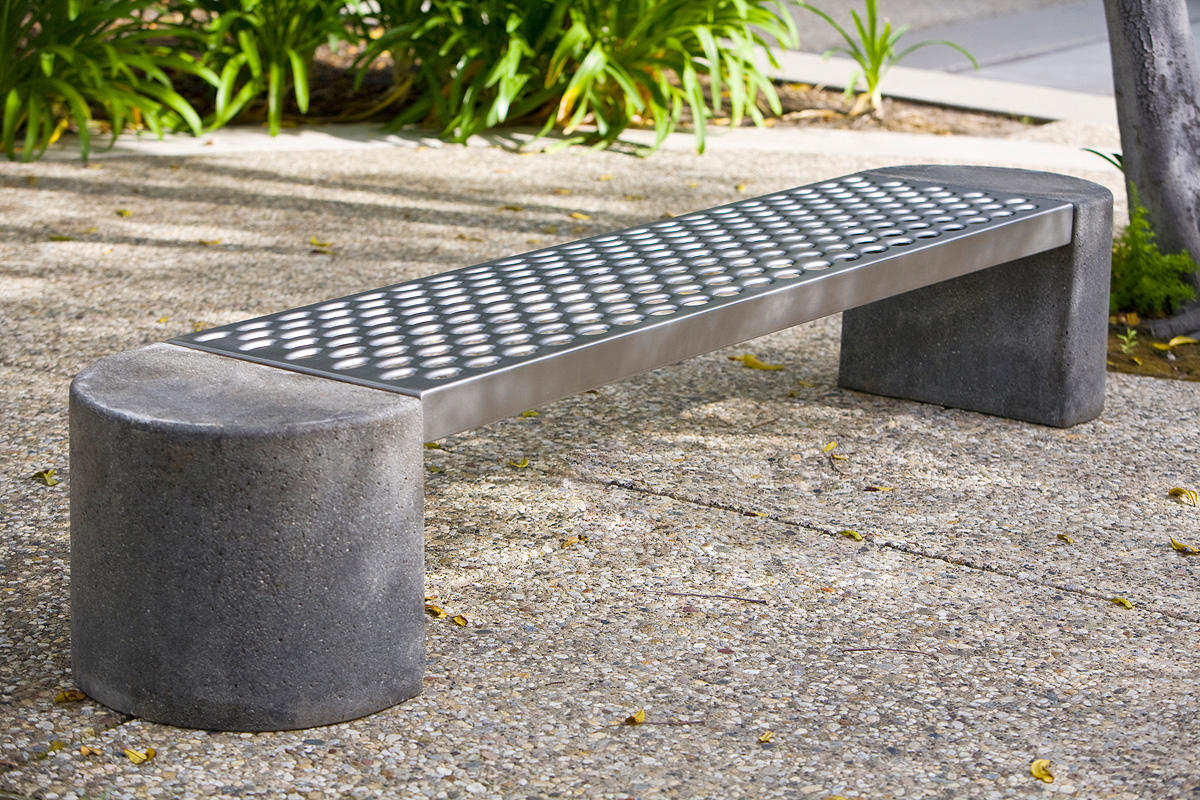 Foundation Bench Outdoor Forms Surfaces