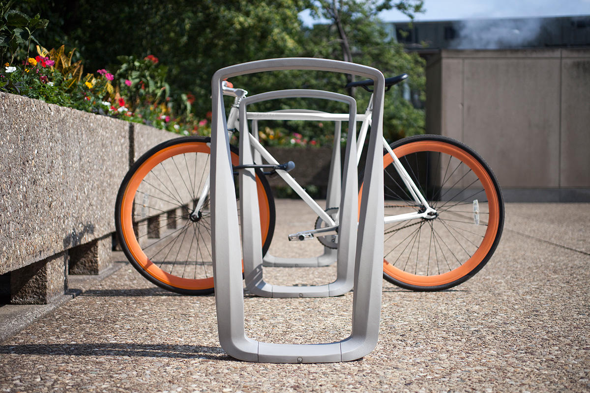 Twist Bike Rack Outdoor Forms Surfaces